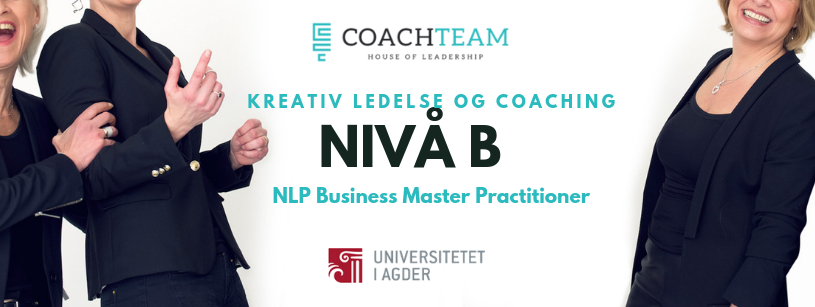 Kreativ Ledelse og Coaching nivå B - NLP Business Master ...